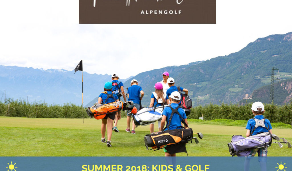 Kinderkurse bei der golfschule tirol