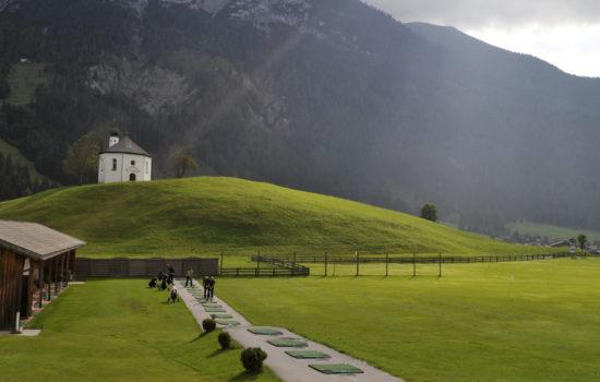 drining range golfclub achenkirch